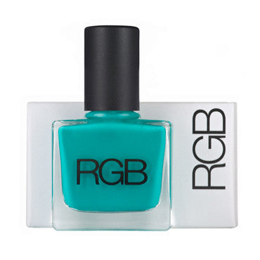 peacock nail polish || RGB || beautybar