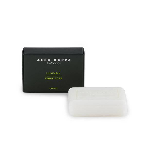 acca kappa cedar bar soap