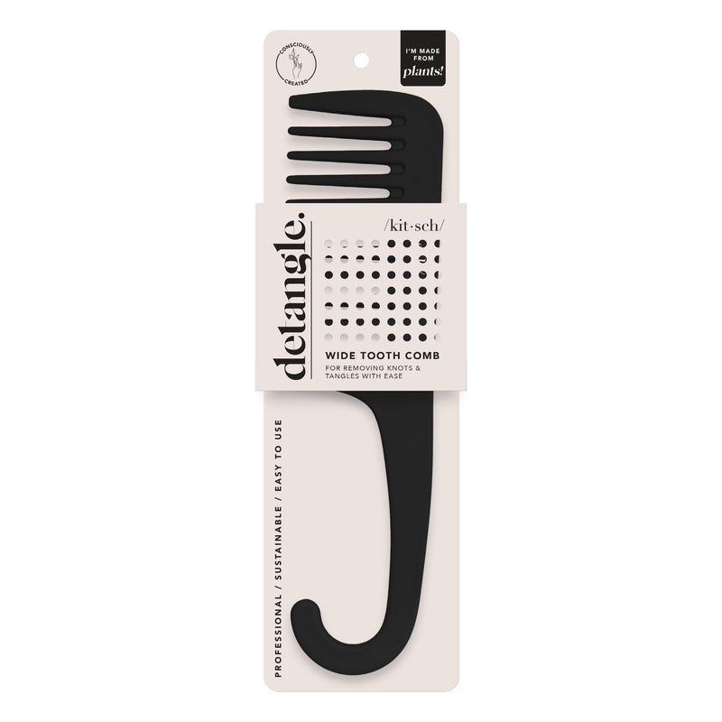 Consciously Created Wide Tooth Comb || Kitsch || Beautybar