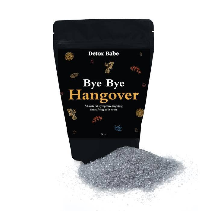 Bye Bye Hangover  All-Natural Bath Soak || Detox Babe || BB
