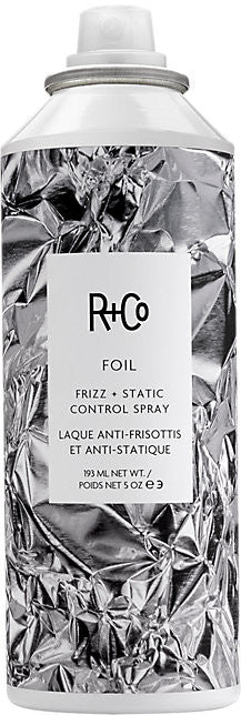 foil frizz + static control spray || r+co || beautybar
