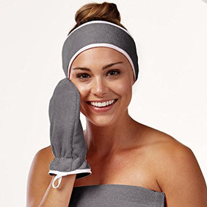 bucky steel spa bath glove