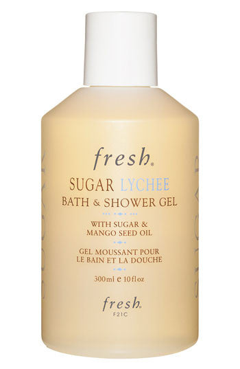 sugar lychee bath & shower gel || fresh || beautybar