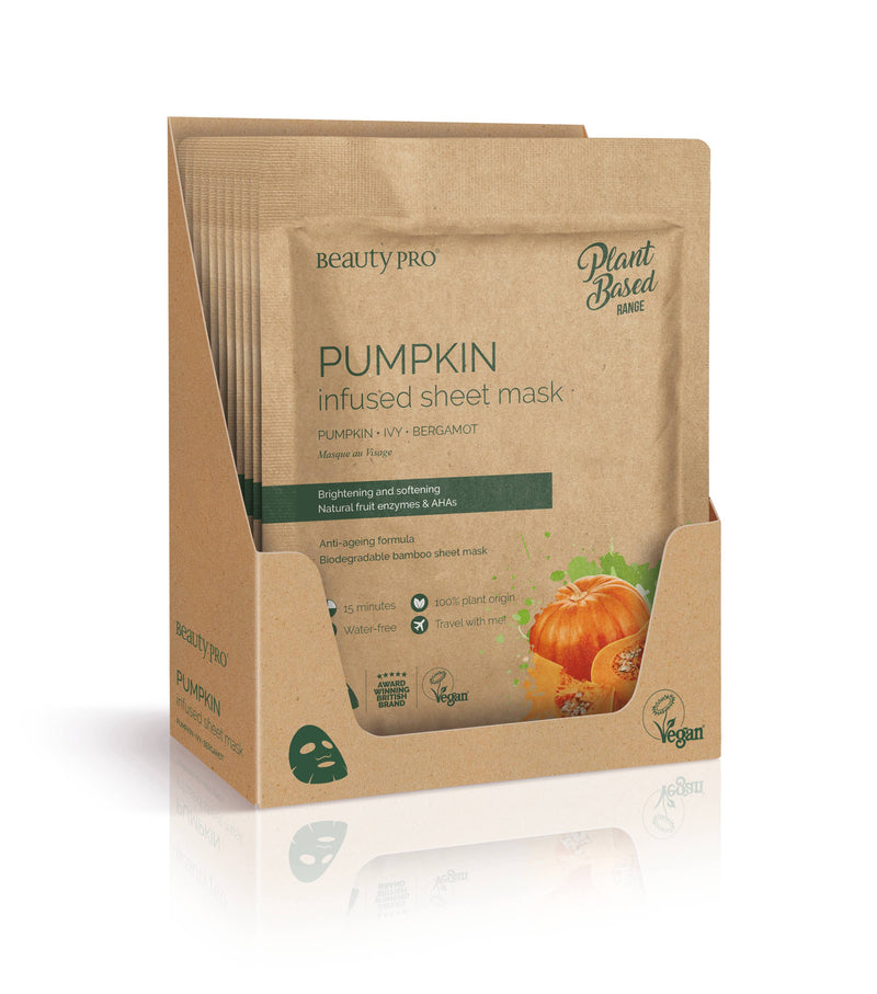 PUMPKIN Infused Sheet Face Mask || BeautyPro || Beautybar