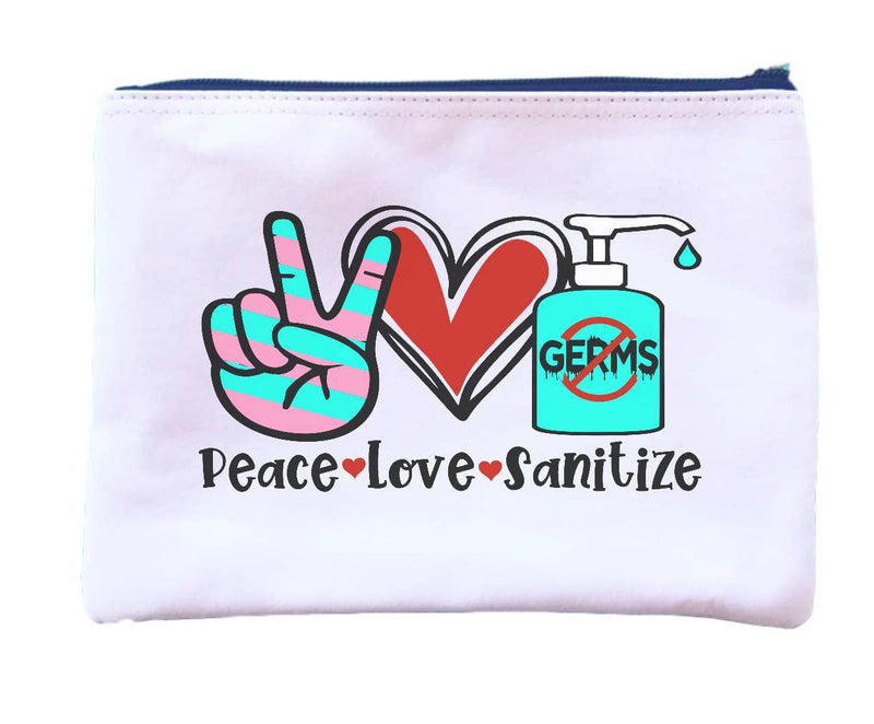 Peace Love Sanitize Pouch || Dandy Like Candy || Beautybar