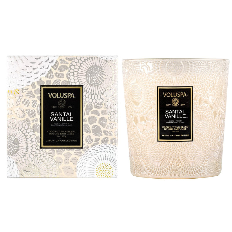 Santal Vanille | Classic Candle || Voluspa || Beautybar