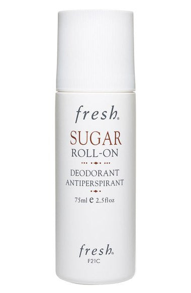 sugar roll-on deodorant antiperspirant || fresh || beautybar
