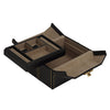 small faux leather jewelry box - black || wolf designs