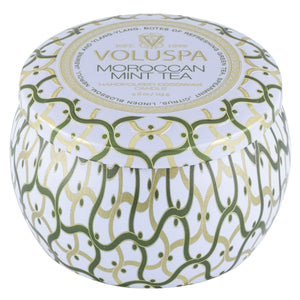 Moroccan Mint Tea | petite decorative candle || Voluspa
