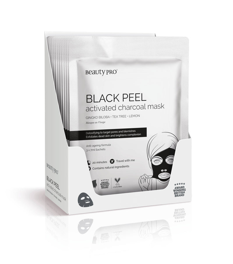 BLACK PEEL Charcoal Mask || BeautyPro || Beautybar