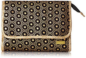 sarah foldover bag - bollywood black