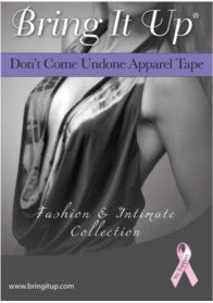 don't come undone apparel tape