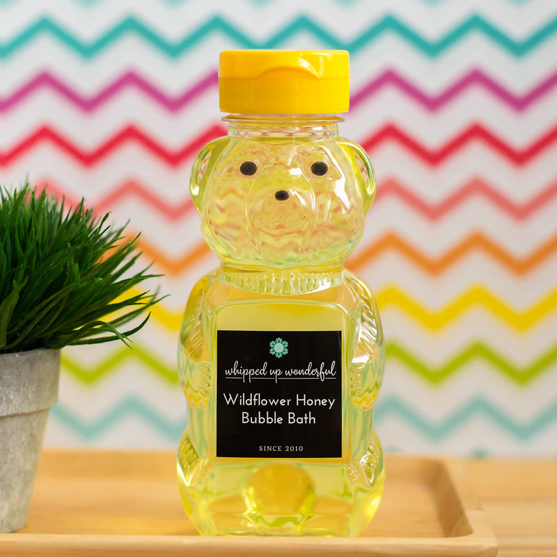 Wildflower Honey Bubble Bath || Whipped up Wonderful || BB