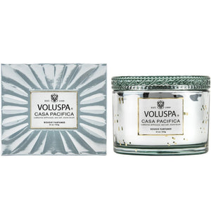 corta maison boxed candle - casa pacifica || voluspa