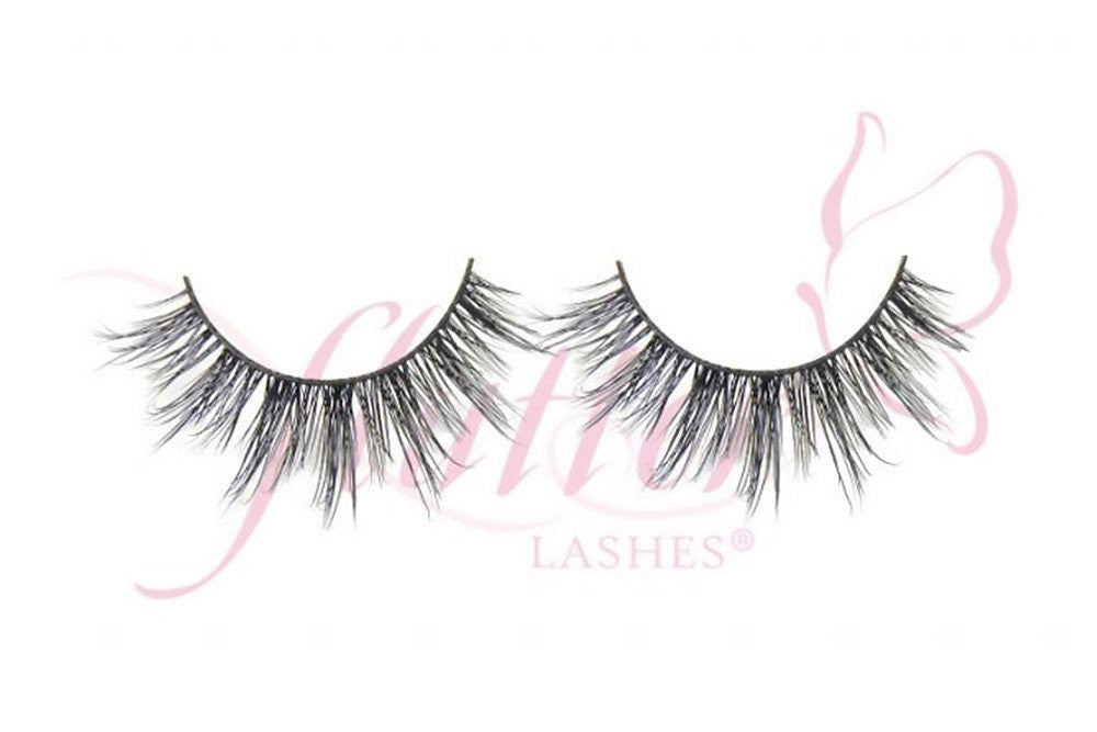 ashley mink lashes || fllutter lashes || beautybar