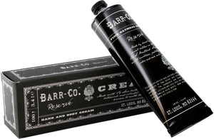 barr co reserve hand and body cream