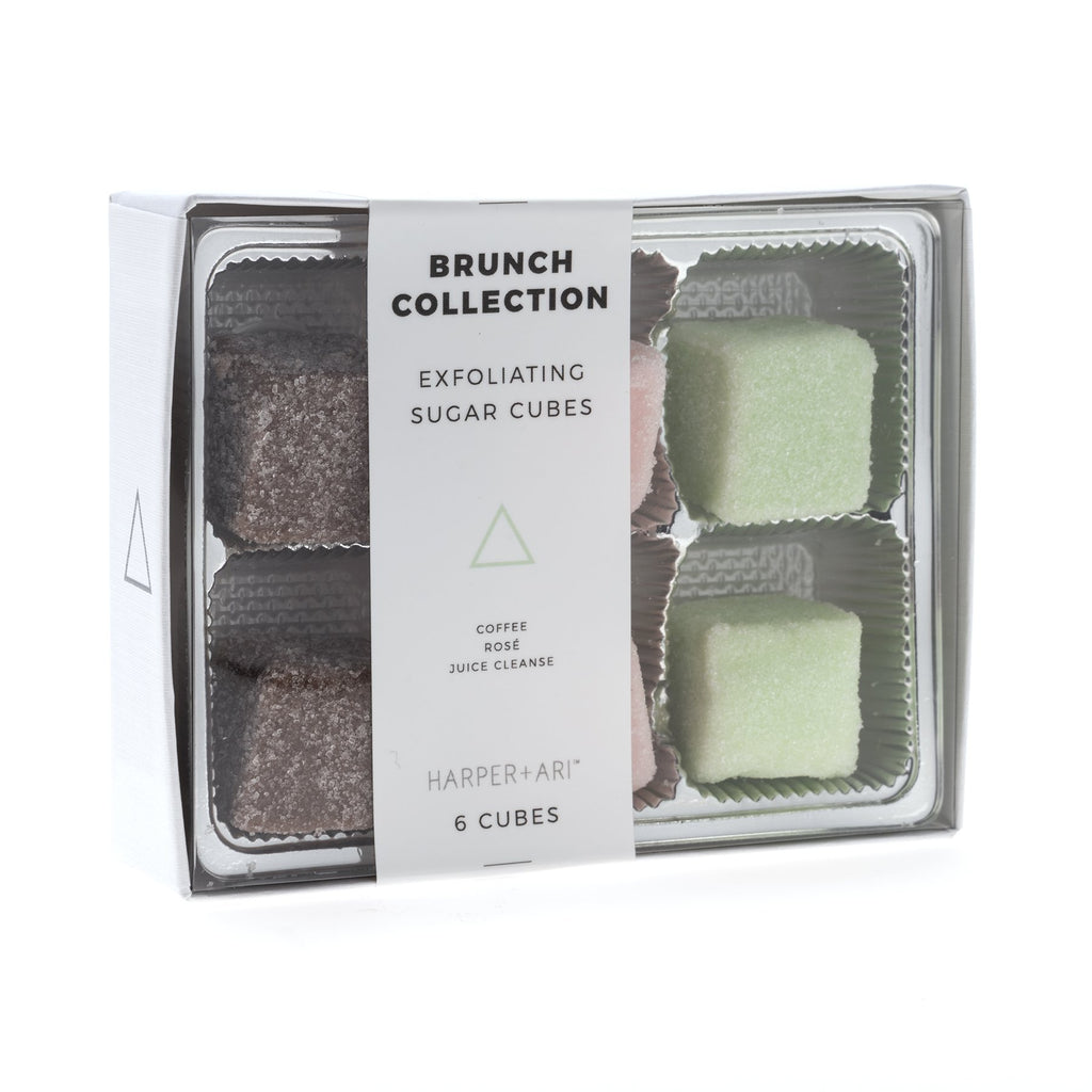 Exfoliating Sugar Cubes - Brunch Collection || Harper + Ari
