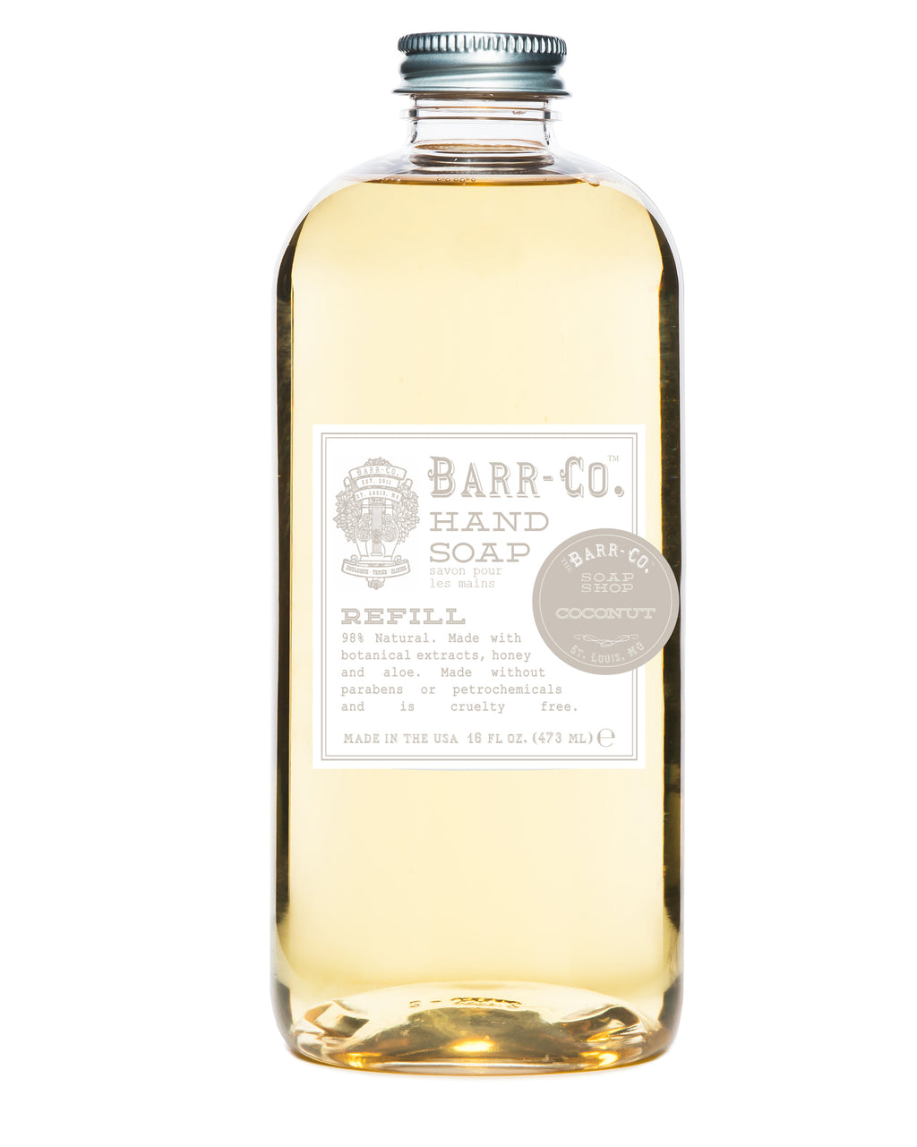 liquid soap refill | coconut || barr-co || beautybar