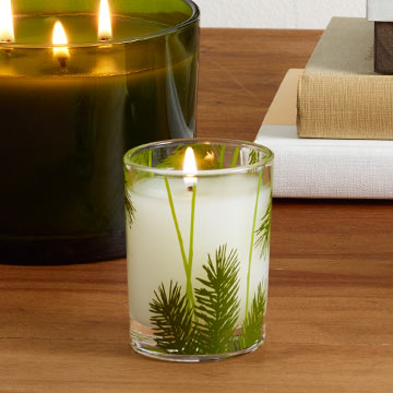 frasier fir petite votive candle