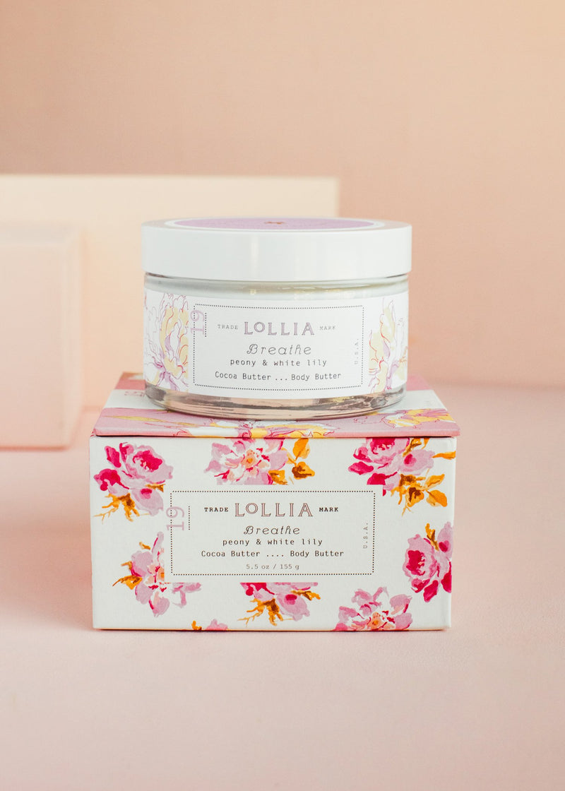 breathe whipped body butter || lollia || beautybar