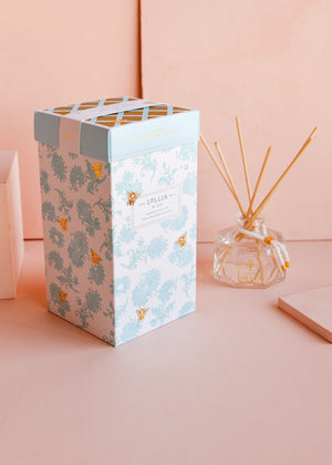 wish reed diffuser || lollia || beautybar