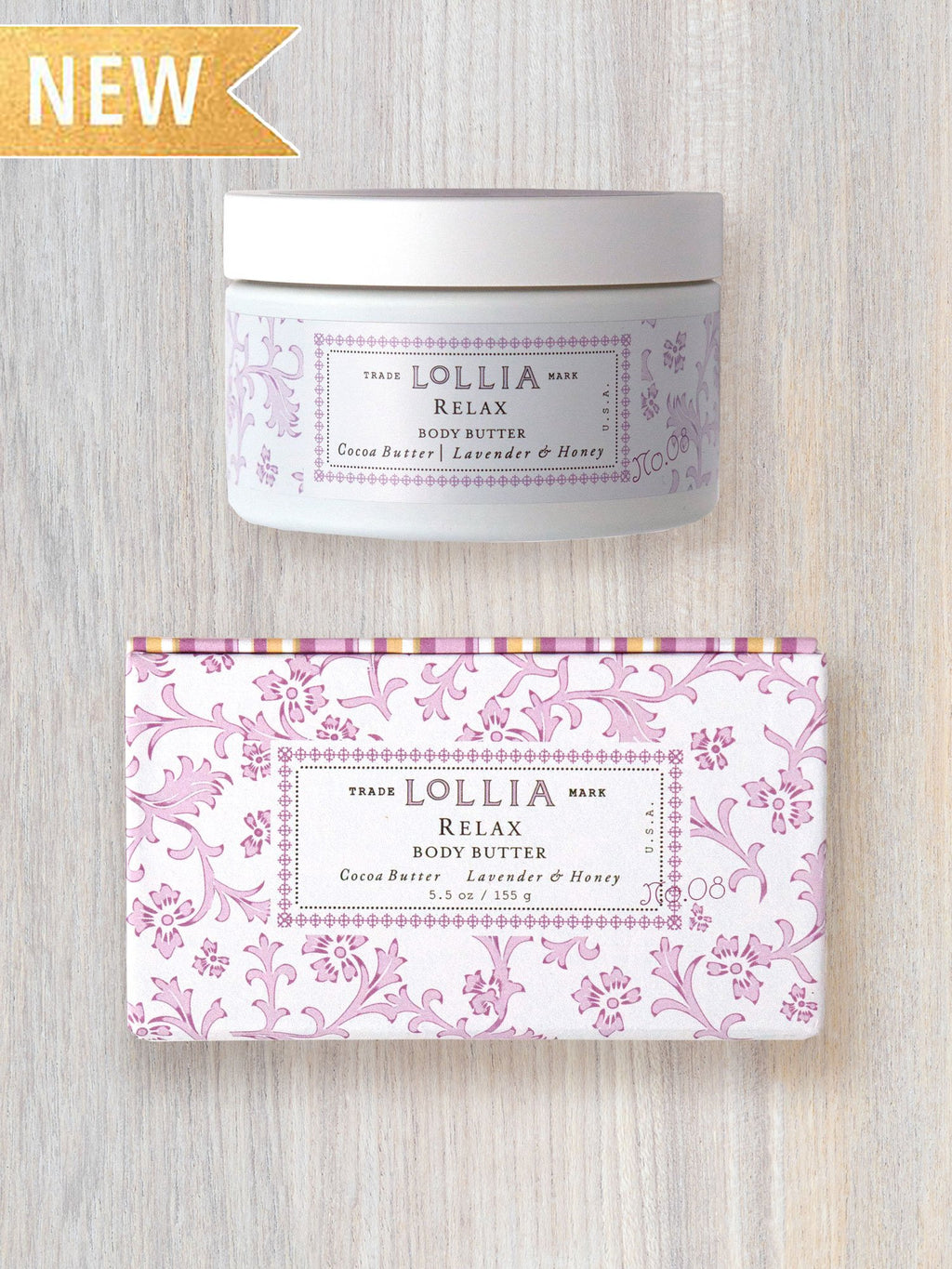 relax whipped body butter || lollia || beautybar