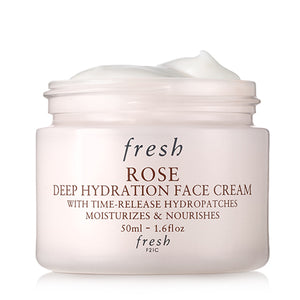 rose deep hydration cream || fresh || beautybar