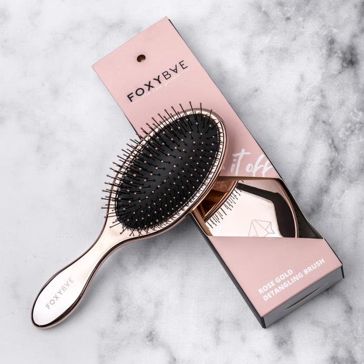 Rose Gold Wet Brush || Foxybae Hair || Beautybar