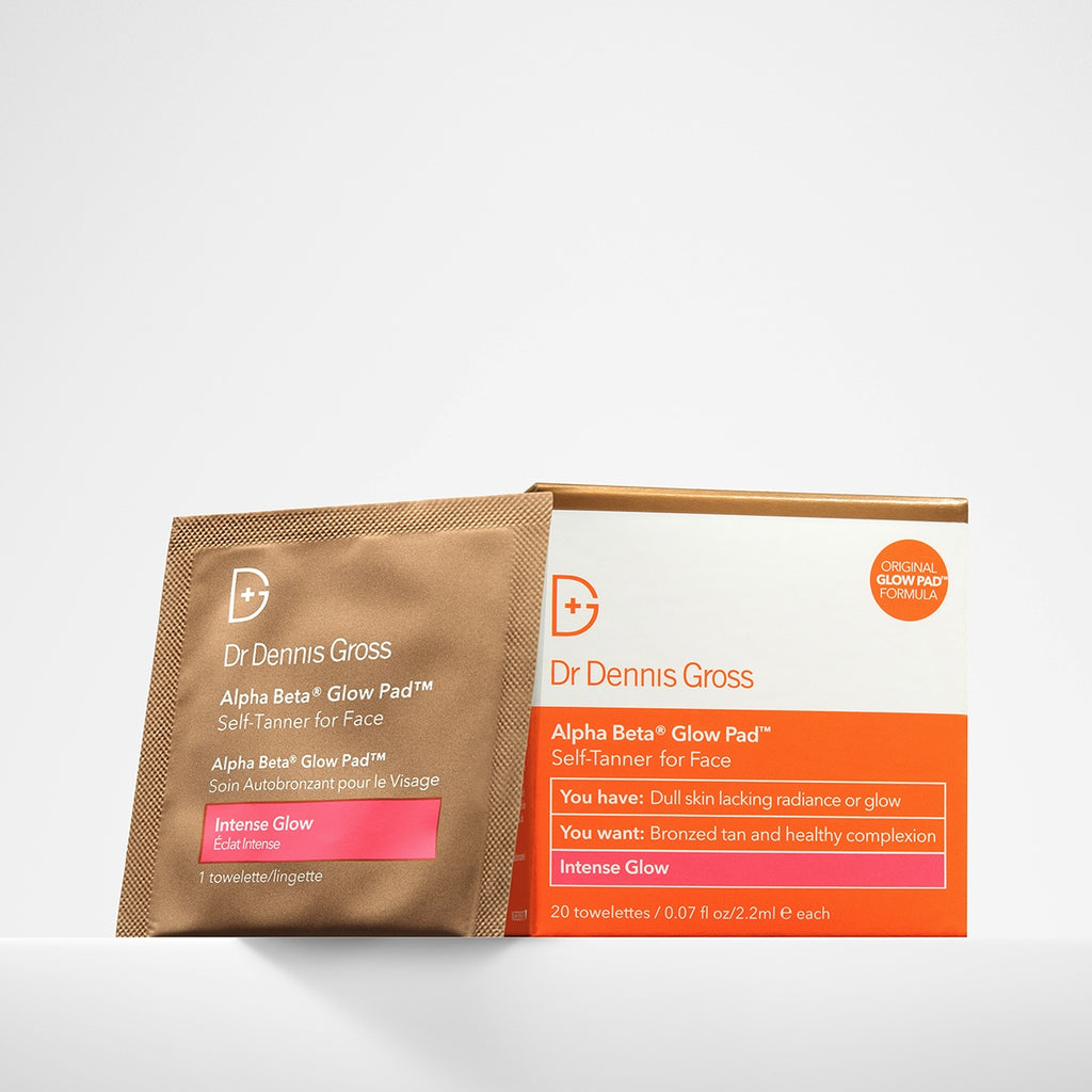 alpha beta glow pad intense glow || dr. dennis gross