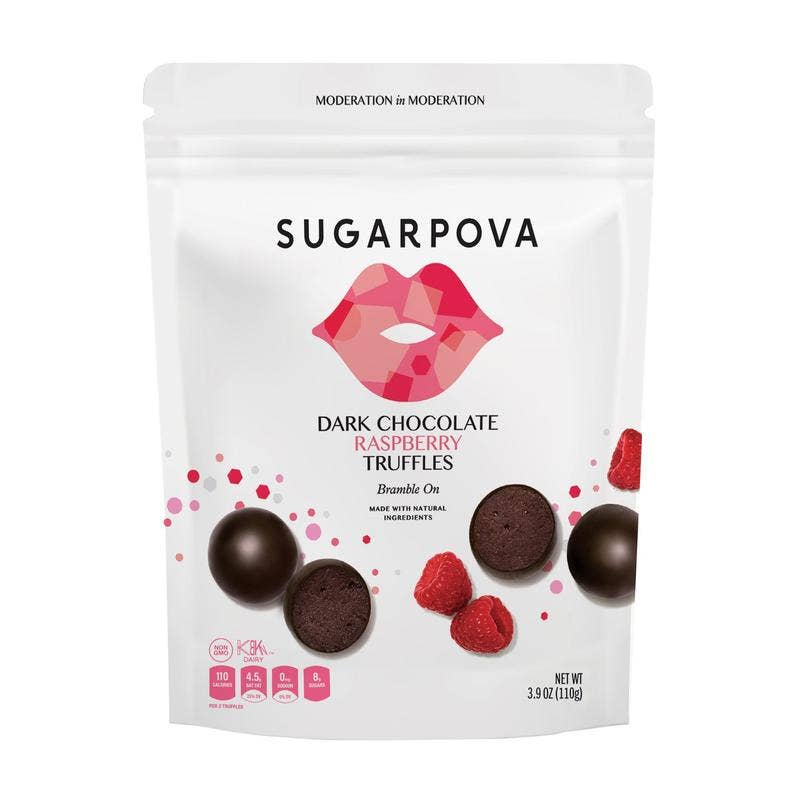 Dark Chocolate/Raspberry Truffles || Sugarpova || Beautybar
