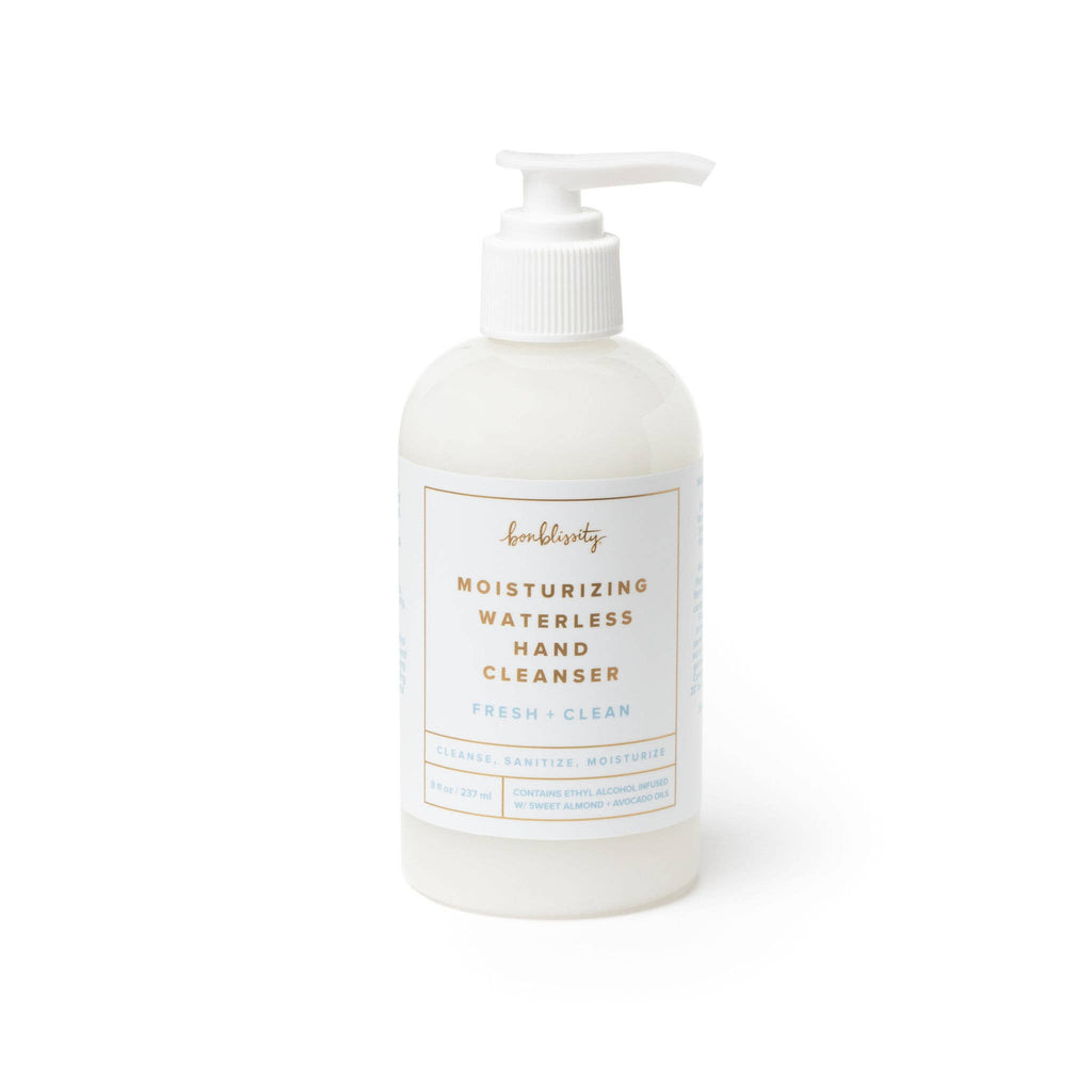 Waterless Hand Cleanser - Fresh + Clean || bonblissity || BB