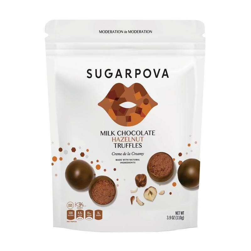 Milk Chocolate/Hazelnut Truffles || Sugarpova || Beautybar