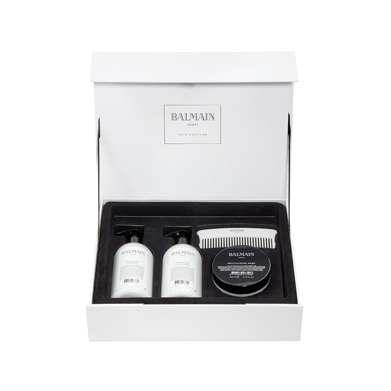 balmain hair couture revitalizing care set
