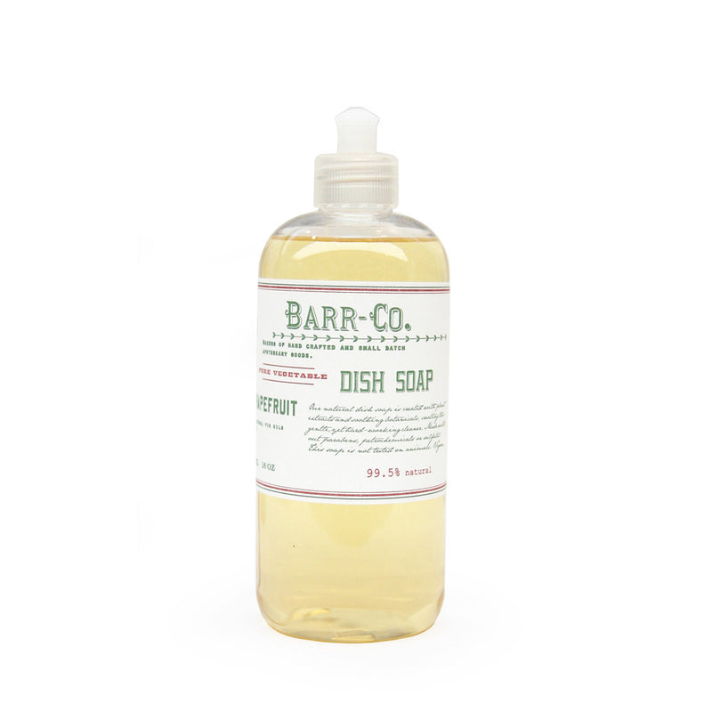 natural dish soap - fir & grapefruit scent