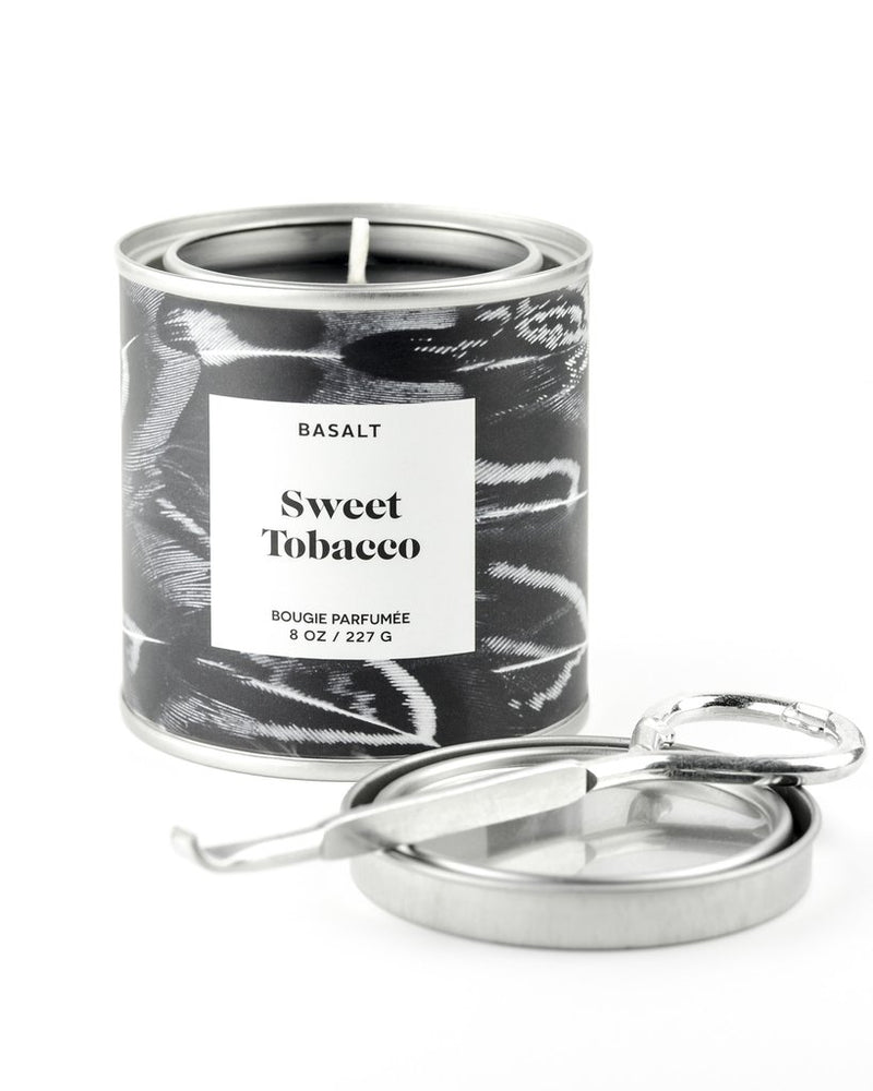 basalt sweet tobacco candle
