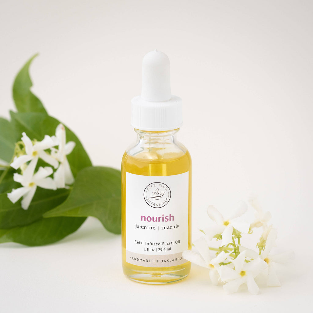 Nourish Facial Oil || free flow botanicals || beautybar