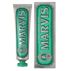 classic strong mint toothpaste || marvis || beautybar