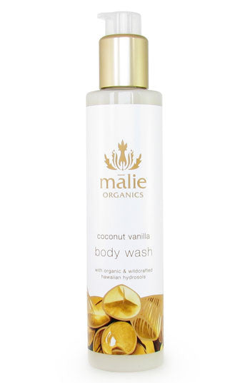 coconut vanilla body wash || malie organics || beautybar