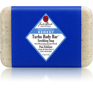turbo body bar scrubbing soap || jack black || beautybar