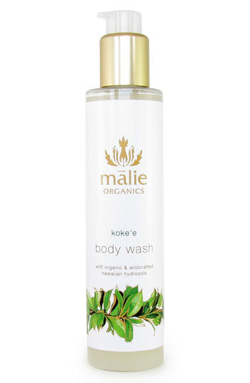 koke'e body wash || malie organics || beautybar