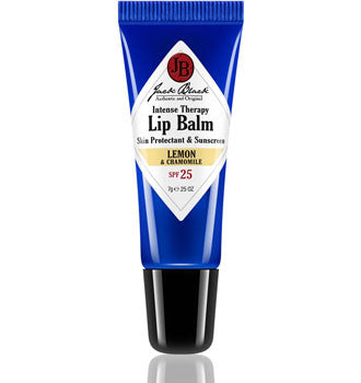 intense therapy lip balm - lemon || jack black || beautybar