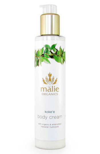 koke'e body cream || malie organics || beautybar