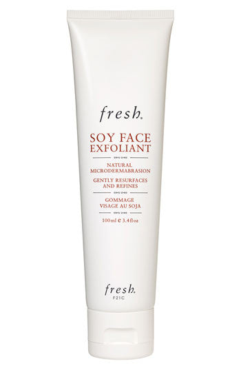 soy face exfoliant || fresh || beautybar