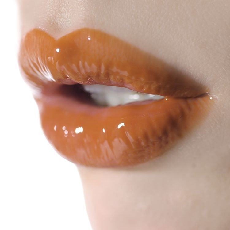 glazed lips L305 - sheer rusty orange || ellis faas