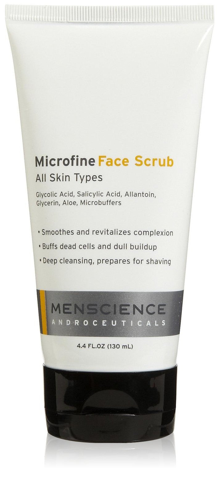 microfine face scrub || menscience || beautybar