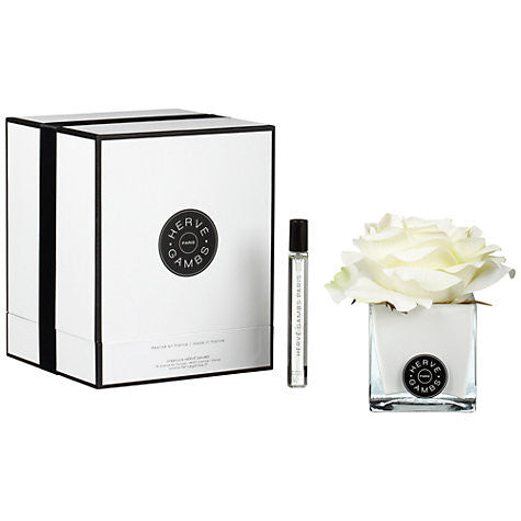 white rose gift set || herve gambs || beautybar