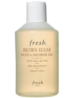 brown sugar bath & shower gel || fresh || beautybar