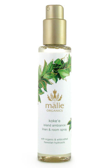 linen & room spray - koke'e || malie organics || beautybar