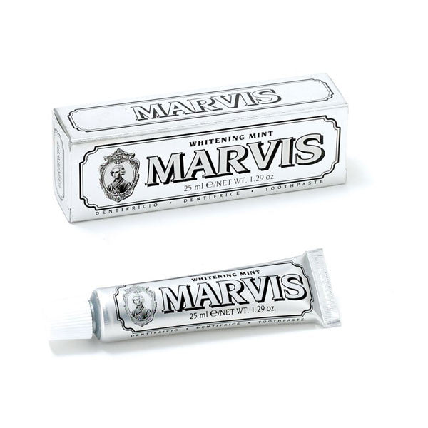 whitening mint travel size toothpaste || marvis || beautybar