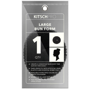 large bun form || kitsch || beautybar